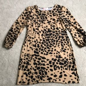 Jude Connally animal print dress